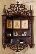 Изготовим домашний иконостас из дерева