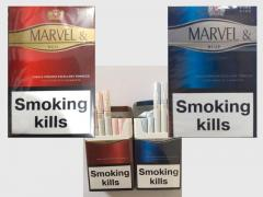 Marvel cigarettes king size (Red, Blue) wholesale