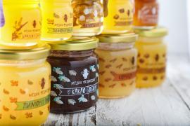 Мед та медові суміші у подарунковому наборі від Медик Ведмедик