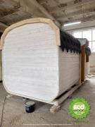 Mobile bath kvadro with a turnkey shower cubicle 6x2.3 m
