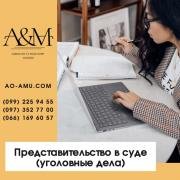 Representation in court (criminal cases) Kharkov