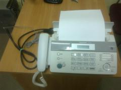 Sell in new condition Phone Fax PANASONIC KX-FT982 White