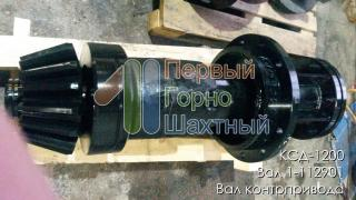 Sell shaft and gear contrived КСД1200