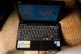 Selling a great netbook MSI U100 (2 cores, battery 5 hours)